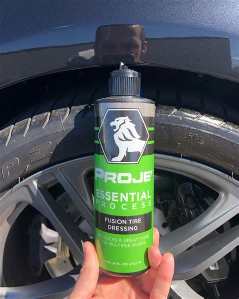 fusion tire dressing  tire dressing proje car care products
