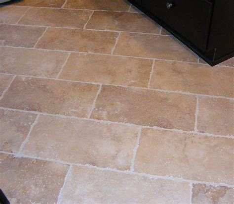 square and rectangle cream tile kitchen floor with white rectangular tile flooring trends including rectangle floor