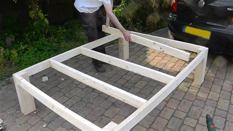 heavy duty diy bed youtube