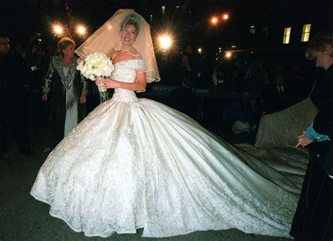 imágenes de vestidos de novia feos las famosas peor vestidas el d 237 a de su boda thalia est 225