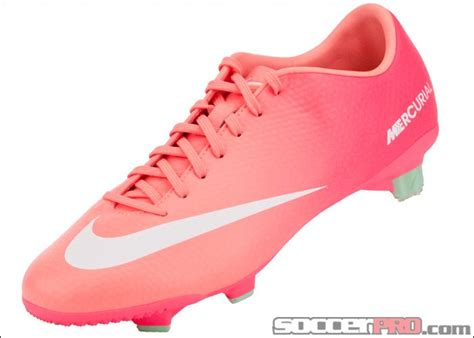 nike womens mercurial veloce soccer cleats atomic pink