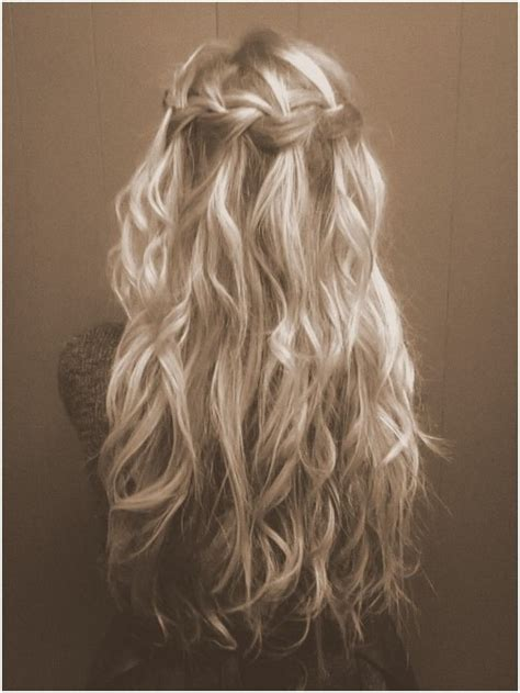 hairstyles with loose curls and braids 8 cute braided hairstyles for girls long hair ideas