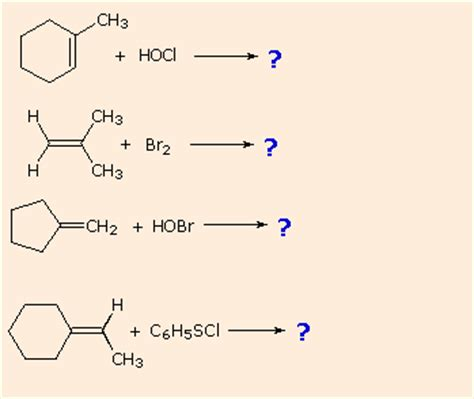 hydration of cyclopentene alkene reactivity