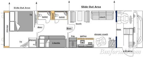 28 prevost rv floor plans busforsale 2016 x3 45