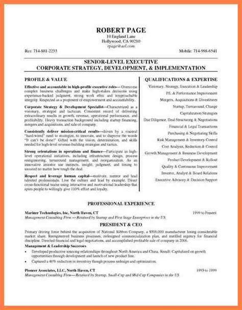 7 company director profile sle company letterhead