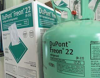 Freon Dupont Shanghai R22 13 62kg gas r22 dupont freon