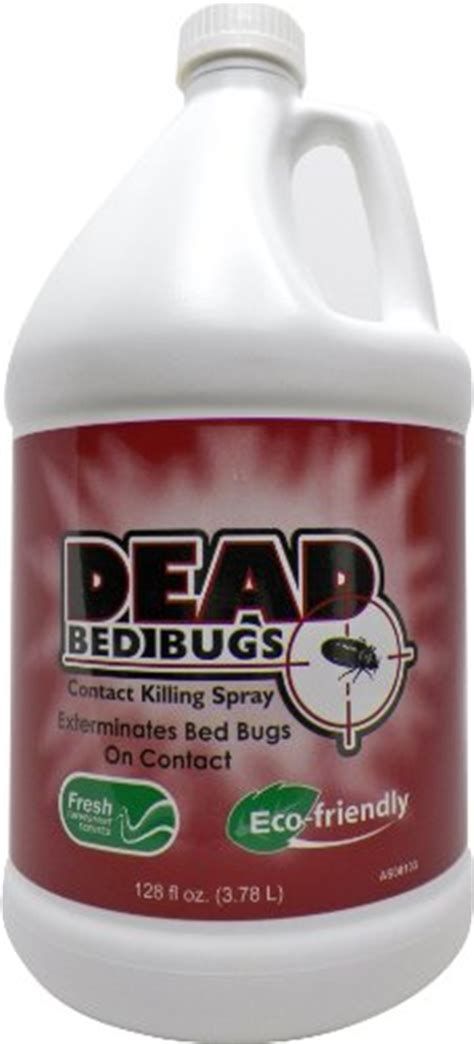 dead bed bugs contact killing spray safe  toxic bed bug killer  gallonlitresfl