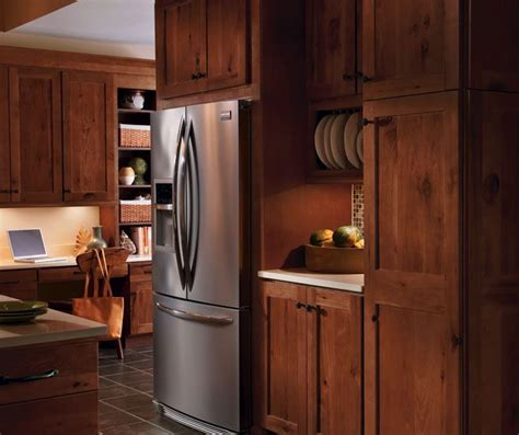 rustic hickory kitchen cabinets pin by katie tenbrink on new house pinterest