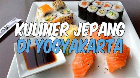 tempat menikmati aneka makanan jepang  yogyakarta