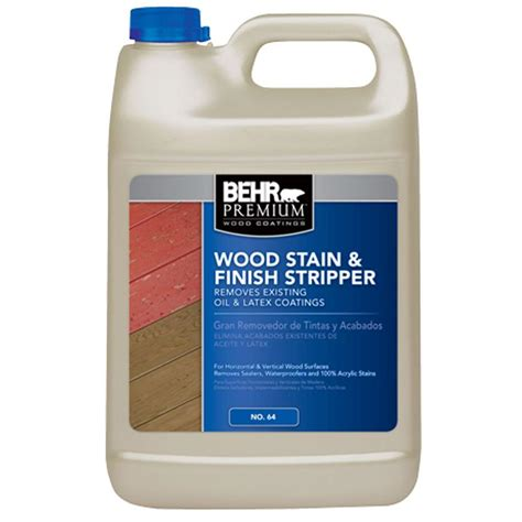 behr premium  gal wood stain  finish stripper
