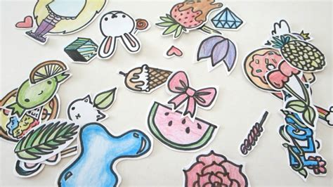 How To Make Stickers With Sticker Paper - how to make your own stickers