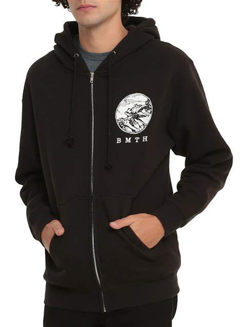 Hoodie Bring Me The Horizon Hitamrockzillastore bring me the horizon tarot hoodie topic