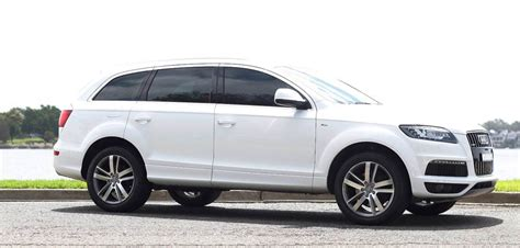 audi hire sydney white audi q7 hire hire audi suvs for special occasions