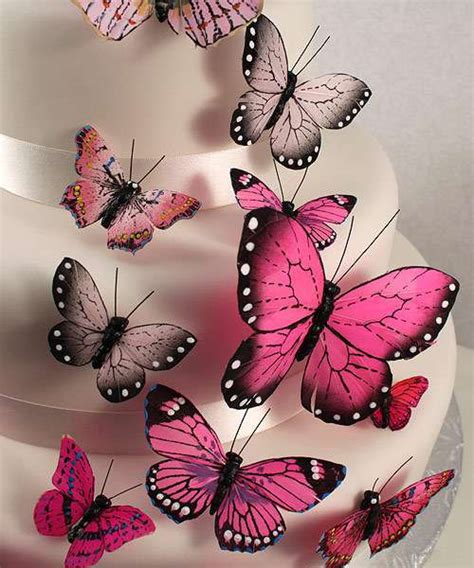butterfly decorations beautiful butterfly cake decorations sets wedding