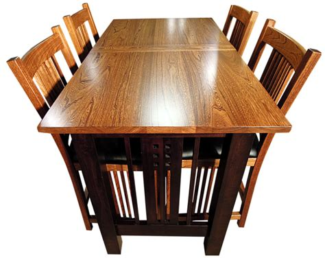 galena trestlend table  chairs top view png