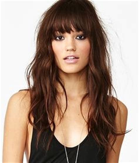 how to wear hair to bed 1000 ideas about bangs long hair on pinterest side