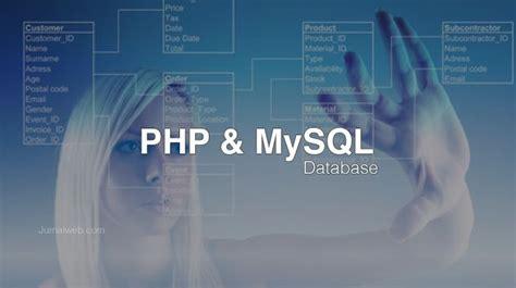 Cd Tutorial Cara Koneksi Php Ke Mysql cara membuat tabel mysql dengan php jurnal web