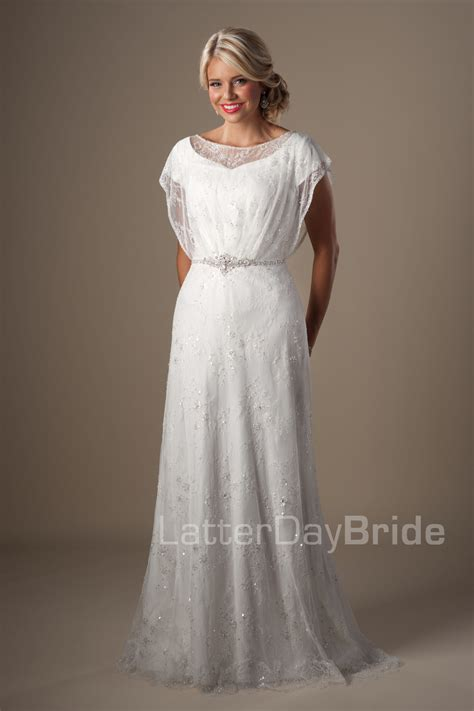 Modest Wedding Dresses by Modest Wedding Dresses Knightly
