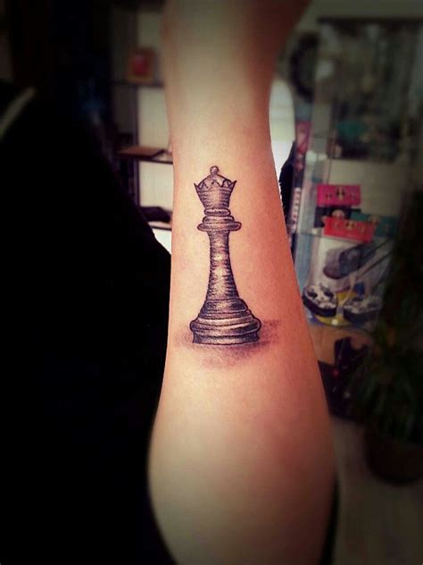 chess piece tattoos chess grey scale black and white pinteres