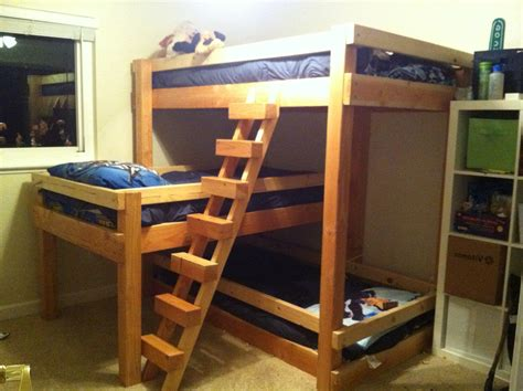 bunk bed plans free bedroom build bunk bed free plans bunk