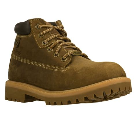skechers mens boots uk new mens skechers sergeants verdict waterproof lace up