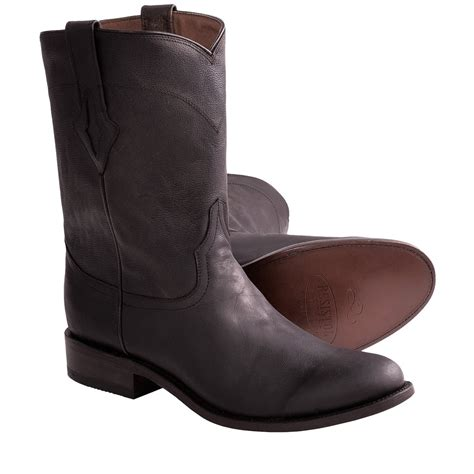 mens ranch boots resistol by lucchese ranch cowboy boots for 6261a