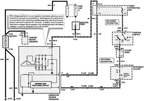 1998 lincoln town car alternator wiring diagram 2003