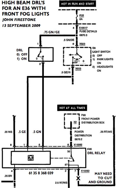 e36 headlight switch wiring diagram 35 wiring diagram