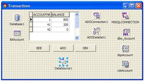 delphi odbc tutorial oracle data access components for delphi 7