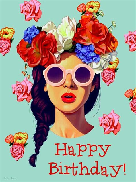 happy birthday flowersart erickdavila fashion pictures  images