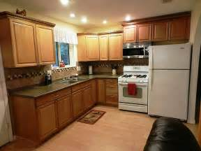 awesome kitchen paint colors with light oak kitchen