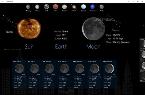 moon phase lunar phases download