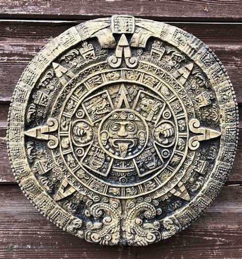 Sun Calendar Aztec Sun Calendar Wall Plaque