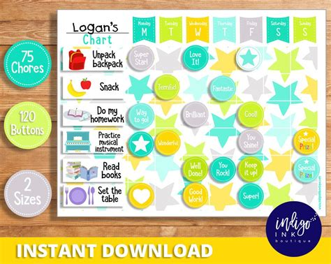 list of synonyms and antonyms of the word homework sticker chart