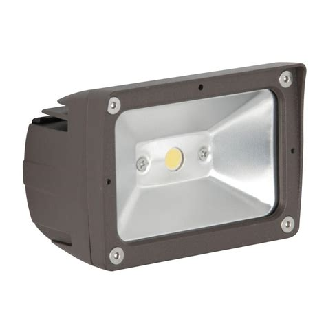 luminance adl lumin 10 watt led outdoor flood light f7390