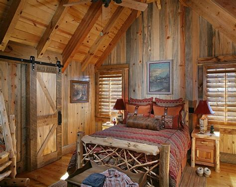 rustic bedroom doors 25 bedrooms that showcase the rustic charm of sliding barn