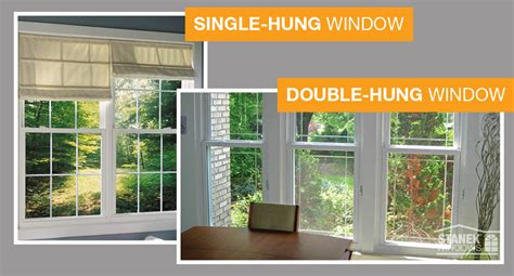 Single Hung vs. Double Hung Windows