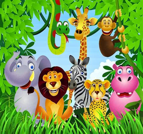 Make Jungle Animals realistic jungle animal coloring pages realistic