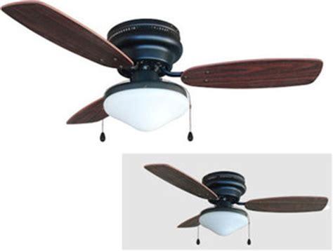 corner ceiling fans rubbed bronze 42 quot hugger ceiling fan w light kit