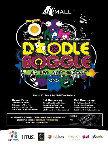 doodle contest 2013 doodle boggle on the spot contest ali mall philippine