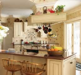 Country Kitchen Wallpaper Ideas by Kitchens Design Photos
