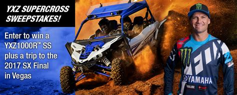 Yxz Sweepstakes - 2017 yamaha yxz1000r ss sweepstakes contest concluded
