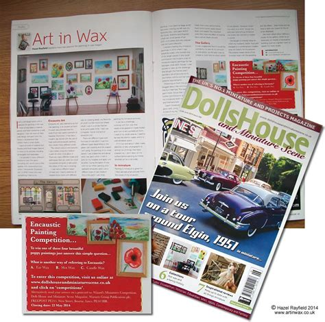 dolls house and miniature scene art in wax 187 dolls house and miniature scene magazine features art in wax