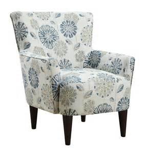 flower power accent chair callaway teal