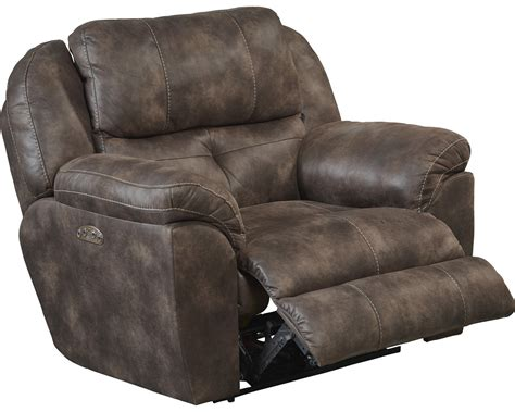 Catnapper Power Recliner catnapper ferrington power headrest power lay flat recliner dusk cn 61890 7 dusk at homelement