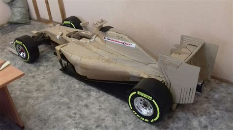 How To Make A F1 Car Out Of Paper - this made a crazily detailed sf16 h car out of