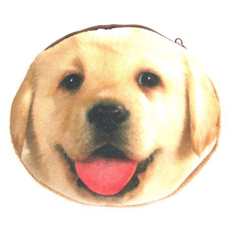 purse puppies golden retriever puppy shaped soft fabric zipper coin purse make up bag