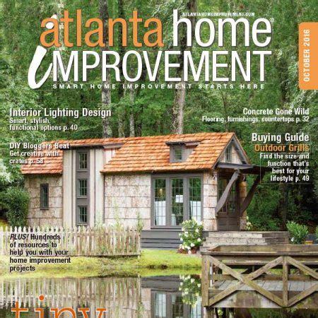 美国版 atlanta home improvement 室内设计杂志 2016年6月刊 56ku杂志馆