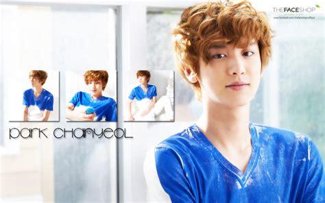 exo chanyeol wallpaper hd chanyeol faceshop wallpaper by kpopgurl on deviantart