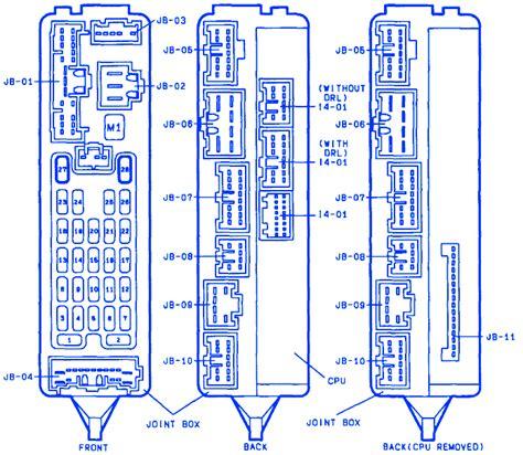 mazda  joint  fuse boxblock circuit breaker